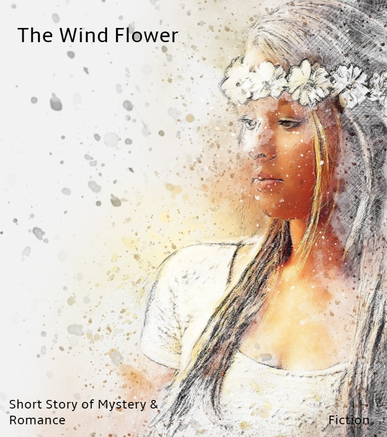 The Wind Flower Book cover of short story mystery and romance fiction
